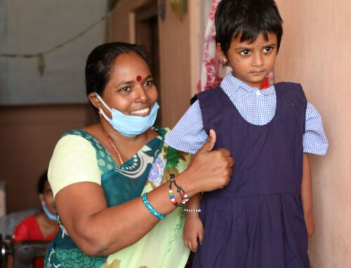 Covid and 12,000 School Uniforms in India